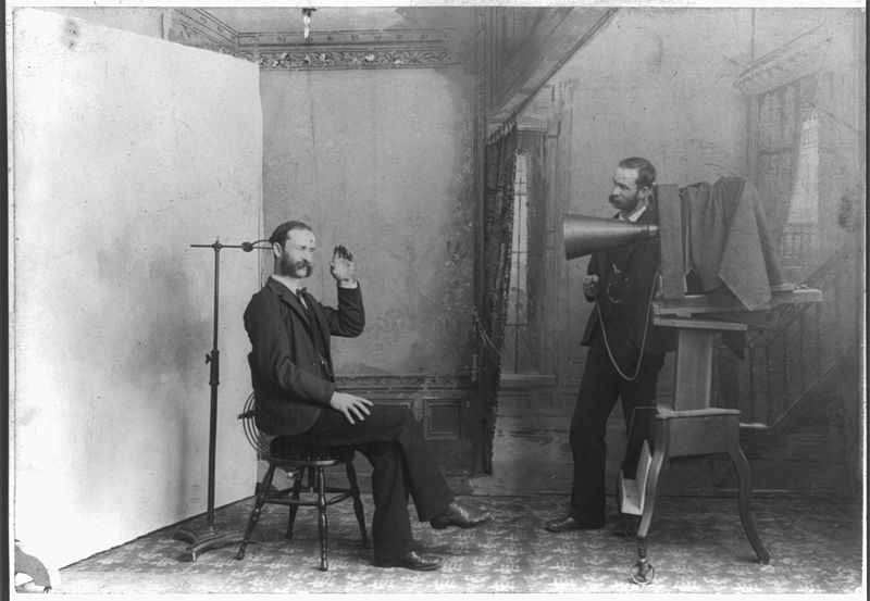 19th century photographic studio